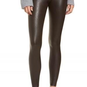7b070aa3da6be Women Brown Faux Leather Leggings on Poshmark